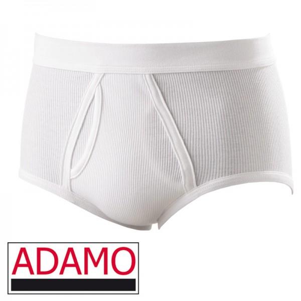 ADAMO SLIP IN DOPPELRIPP WEISS