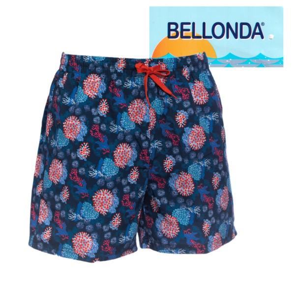 Bellonda Badeshorts mit Korallenmuster
