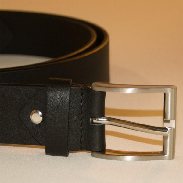 Gürtel aus Lederkombination 38 mm breit ca 170cm lang zum Selberkürzen