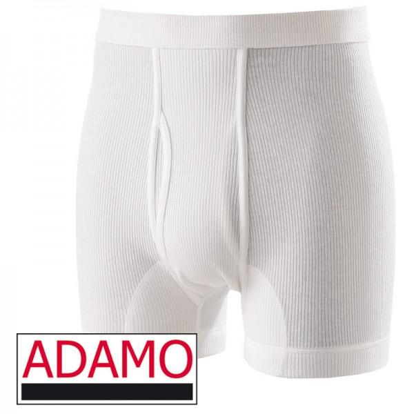 ADAMO HOSE KURZ IN DOPPELRIPP