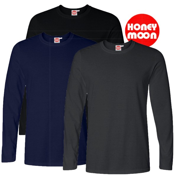 HM Basic T-Shirt mit langen Armen