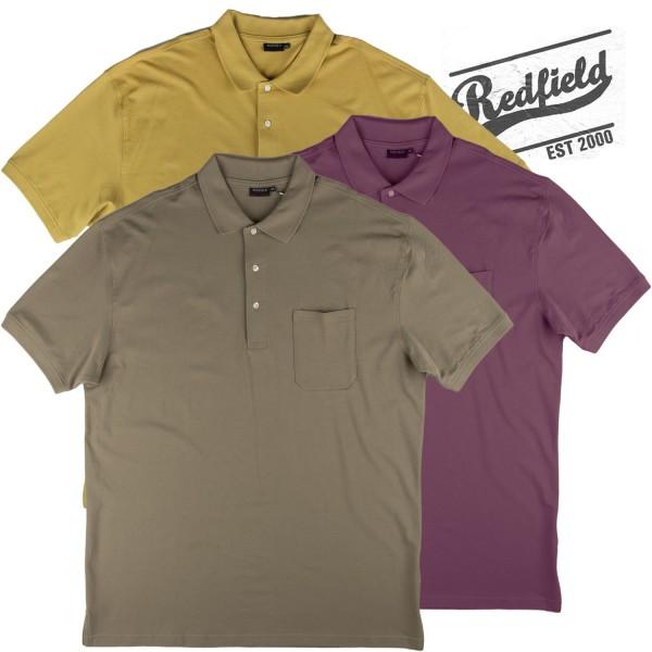 Redfield Sommer 2019 Polo in 3 tollen Farben