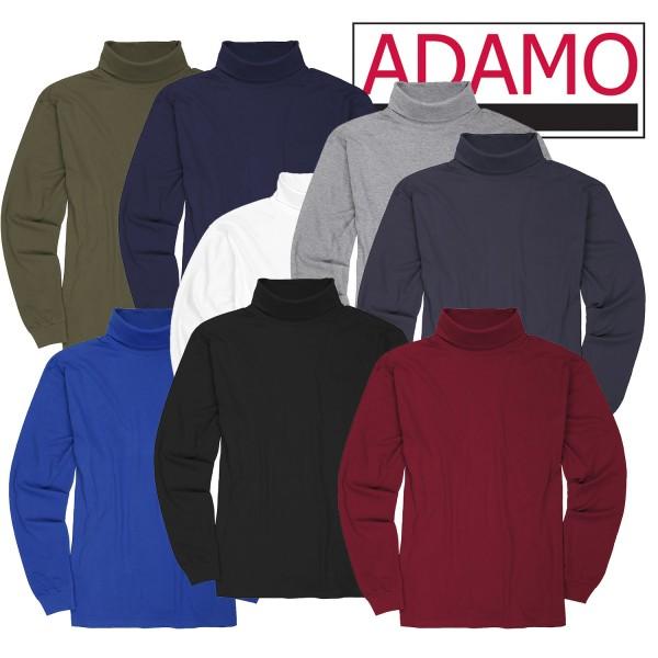 Adamo Basic T-Shirt Rollkragen bis12XL
