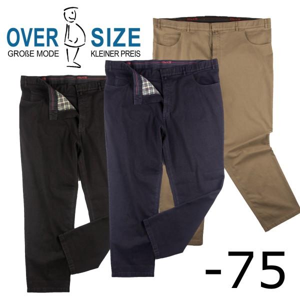 over-size Elastik 5 Pockets Gabardine- Jeans