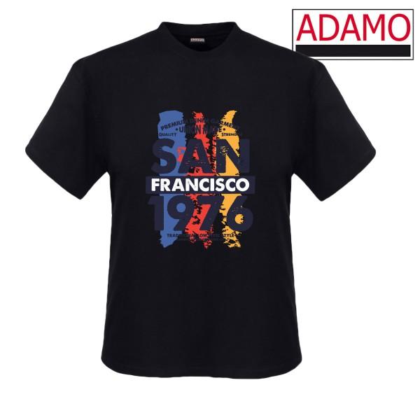 Adamo Motiv-Shirt SAN FRANCISCO 1976  extralang