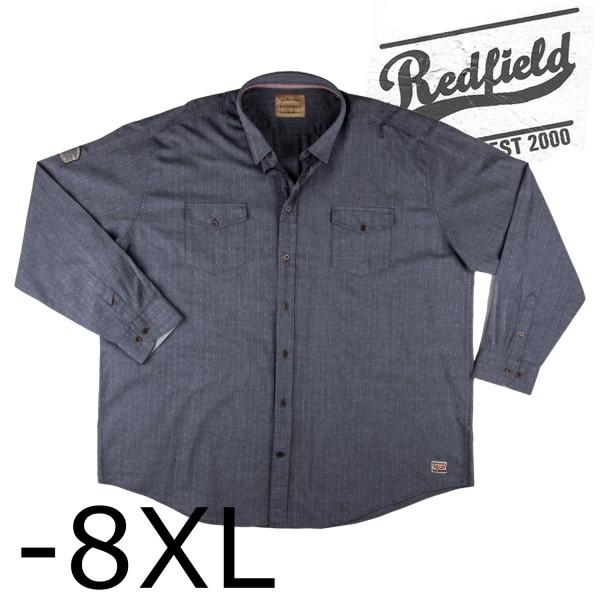 Redfield  1/1 Hemd mit 2 Brusttaschen