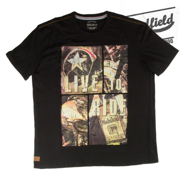 Redfield T-Shirt live to ride