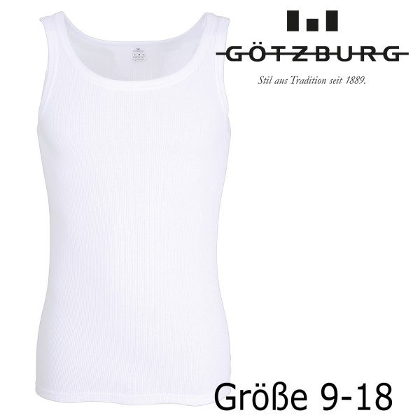 GÖTZBURG Feinripp Sport Unterhemd