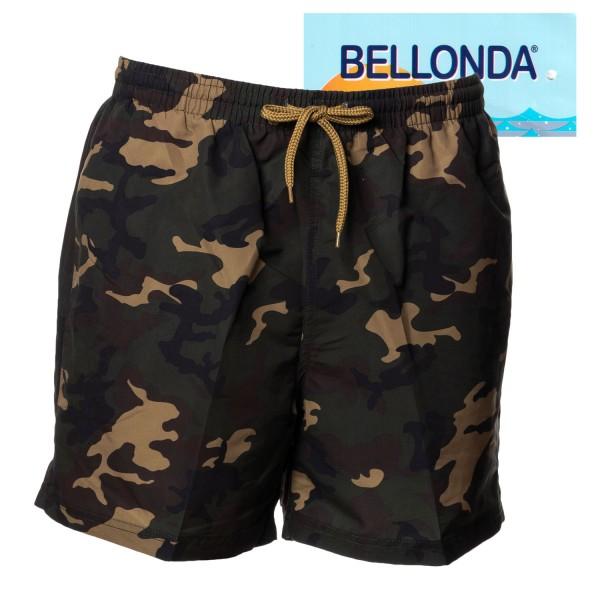 Bellonda Badeshorts mit Camouflage Druck