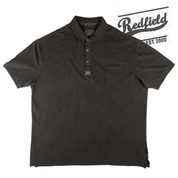 Redfield Polo Pique mit Tasche