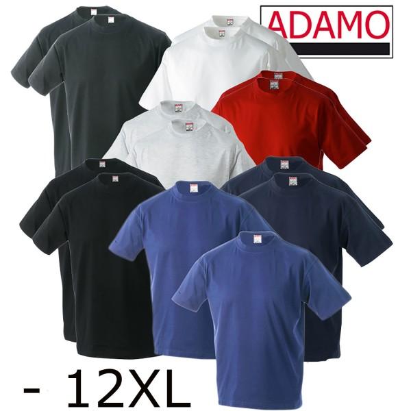 Adamo Basic T-Shirt im Doppelpack jetzt -12XL