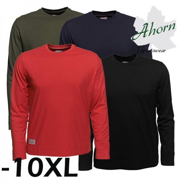 Ahorn Basic T-Shirt Langarm