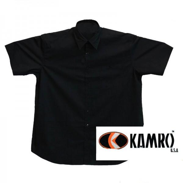 Kamro Sommerhemd schwarz