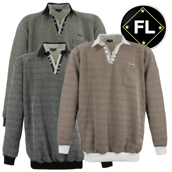 Lavecchia  Polo- Sweatshirt