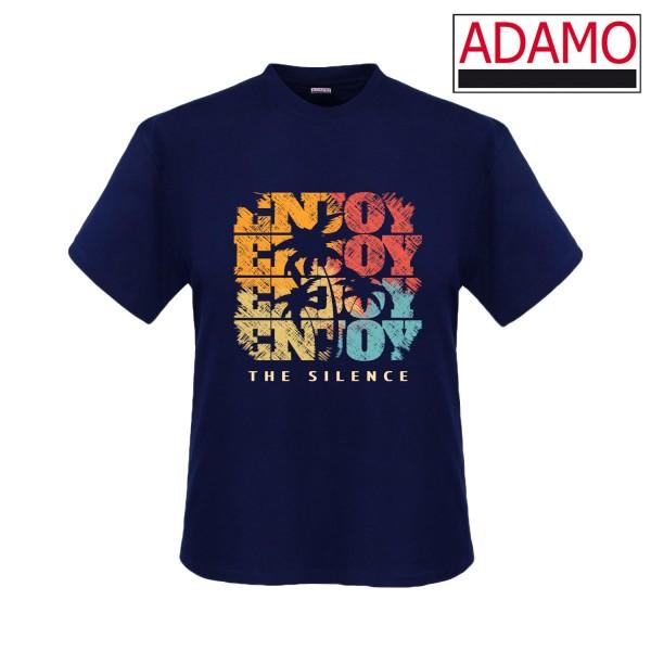 Adamo Motiv-Shirt ENJOY THE SILENCE extralang