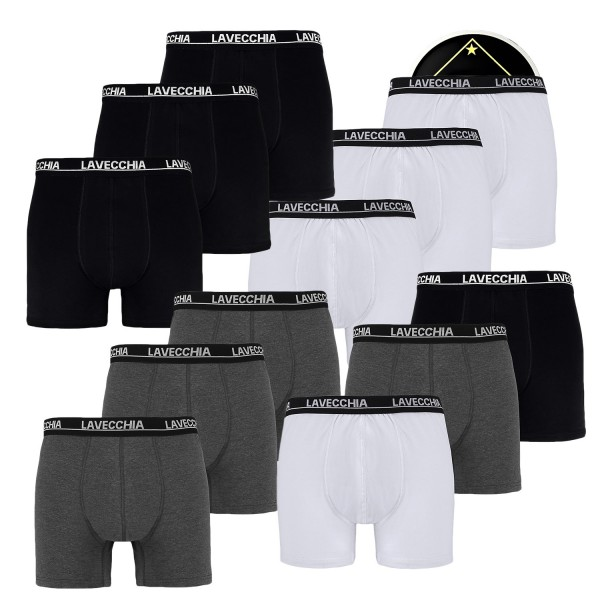 Lavecchia Boxer Short im 3-er Pack