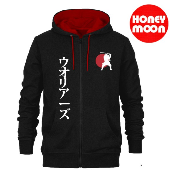 """Honeymoon Kapuzen-Sweatjacke """"Samurai"""""""