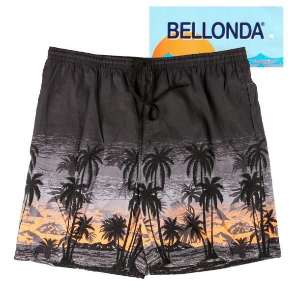 Bellonda Badeshorts mit Palmen Motiv