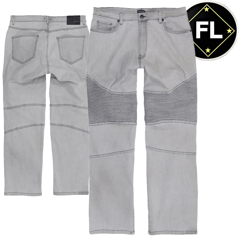 Übergrössen Top Jeans von LAVECCHIA LV16-00 grau