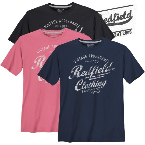 Redfield T-Shirt mit Redfield Clothing Print