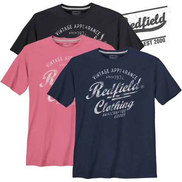 Redfield T-Shirt mit Redfield Clothing Print