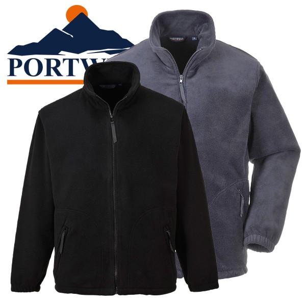 PORTWEST  Fleece Jacke Argyll schwere 400g Qualität