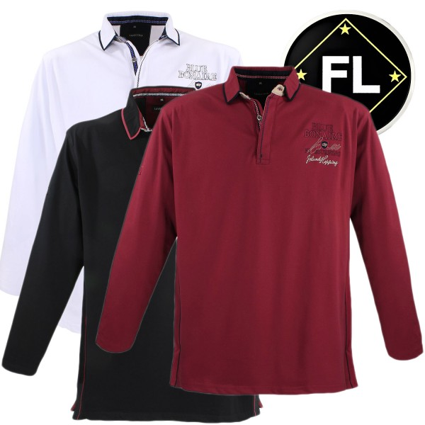 Lavecchia langarm Polo Piquet Shirt