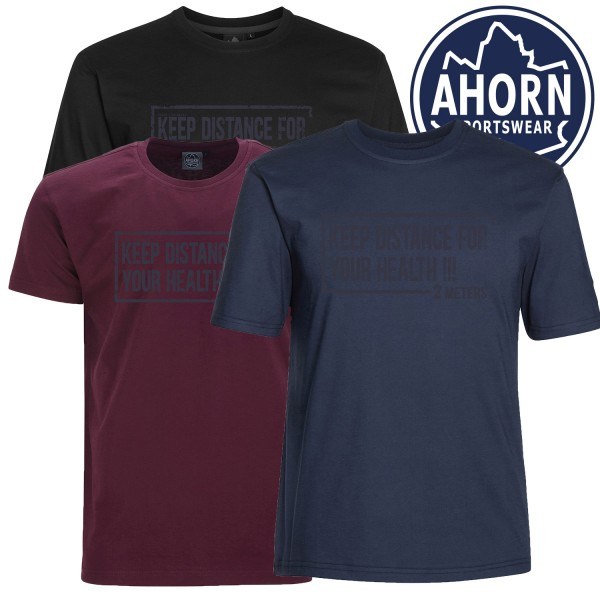 Ahorn CORONA T-Shirt   2 meters for your health