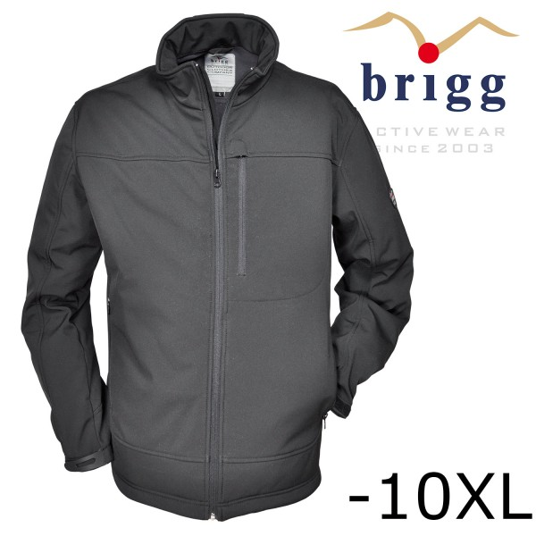 Brigg Softshell Jacke teamplayer