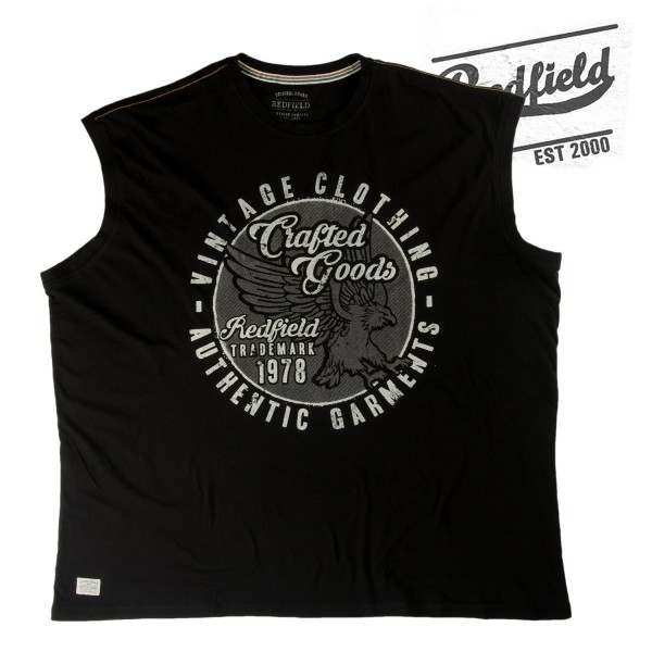 Redfield Muscle Shirt  Crafted Goods