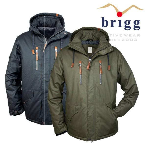 Brigg Outdoor Jacke aus Baumwolle