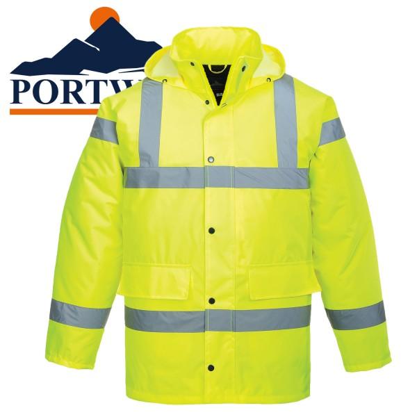 PORTWEST Warnschutz Verkehrsschutz Jacke -8XL