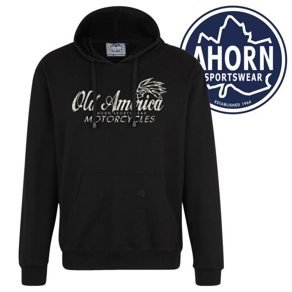 "Ahorn Kapuzen Sweatshirt ""Old America Motorcycles"""