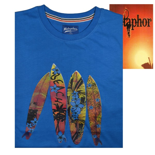 Metaphor T-Shirt  surf beach