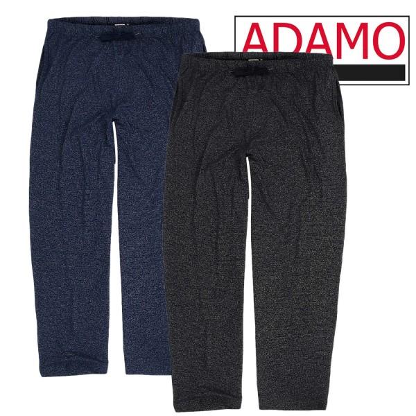 Adamo melierte Freizeithose lang