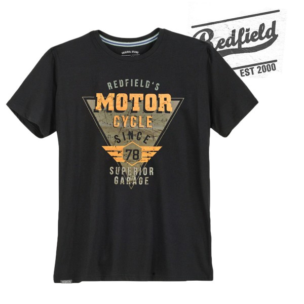 Redfield T-Shirt   Motor Cycle