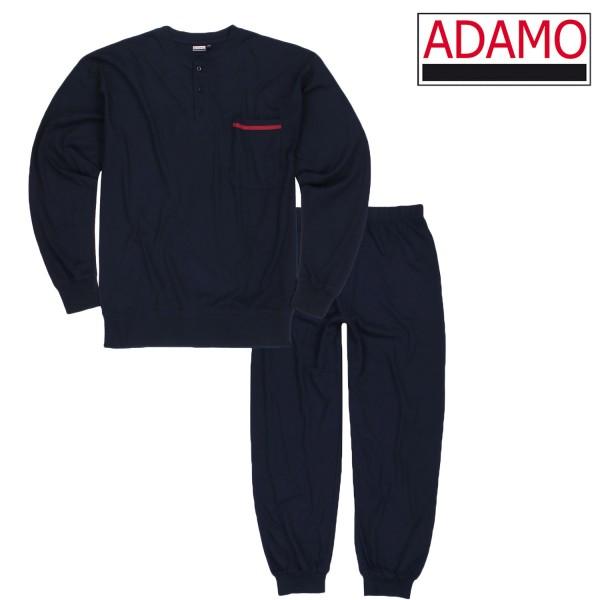 "Adamo Pyjama lang mit Bündchen ""Brian"""