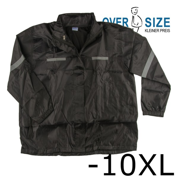 over-size Windbreaker- Regenjacke mit Kapuze