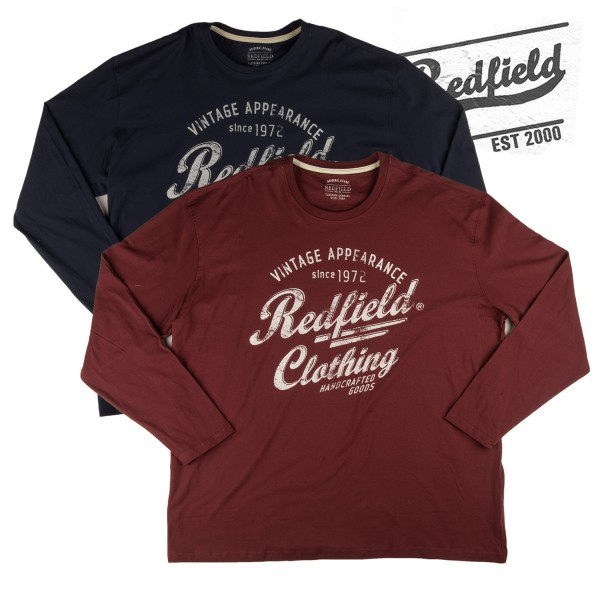 "Redfield langarm T-Shirt ""Redfield clothing"""