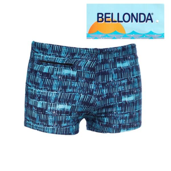 Bellonda Badehosen in blauen Streifenmuster