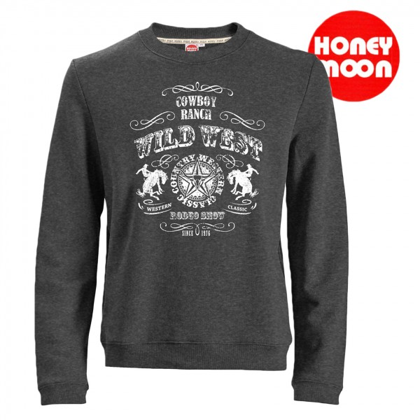 Honeymoon Sweatshirt Wild Wild west