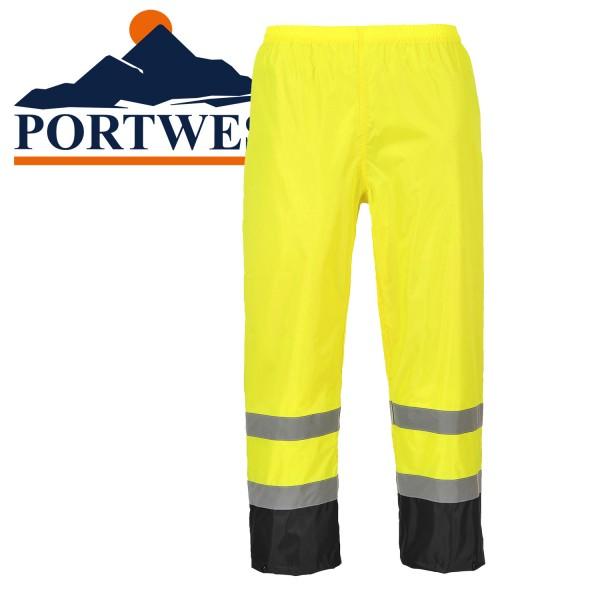 PORTWEST  Kontrast  Warnschutz-Regenhose