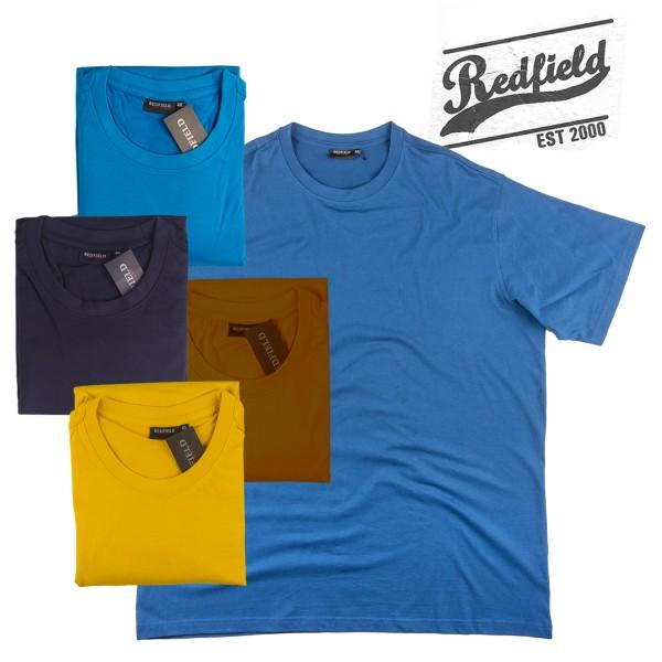 Redfield Sommer 2019 bunte Basic T-Shirts