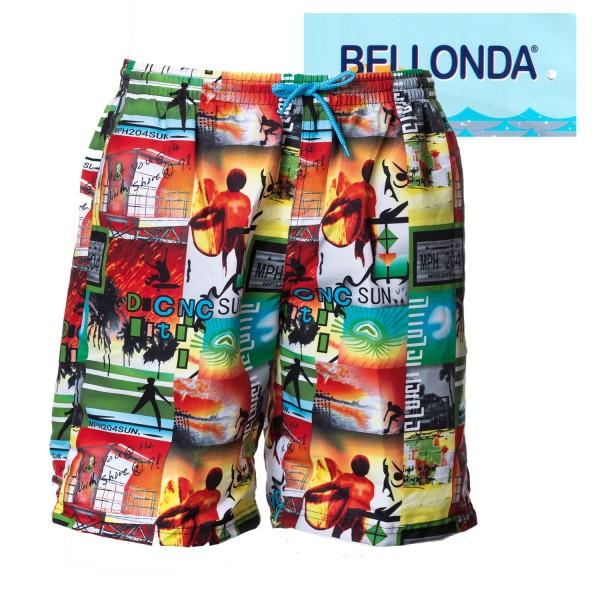 Bellonda Badeshorts mit bunten allover-Druck