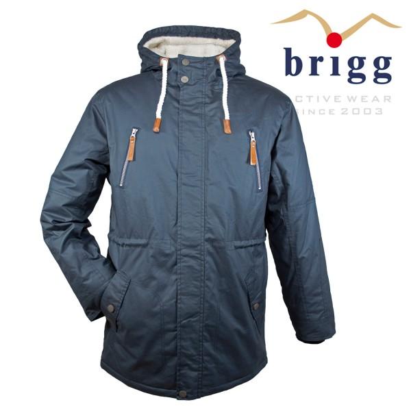 "Brigg Outdoor Jacke ""extra lang"" aus Baumwolle"