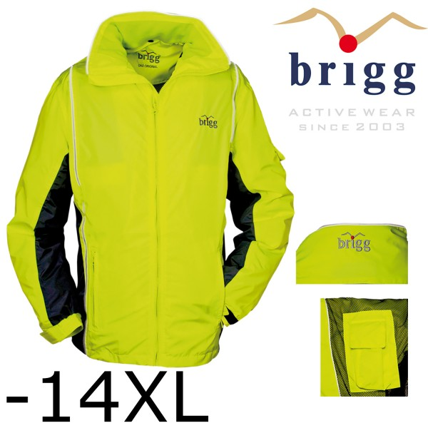 SIGNALGELB - Brigg Sommer Funktionsjacke -Regenjacke