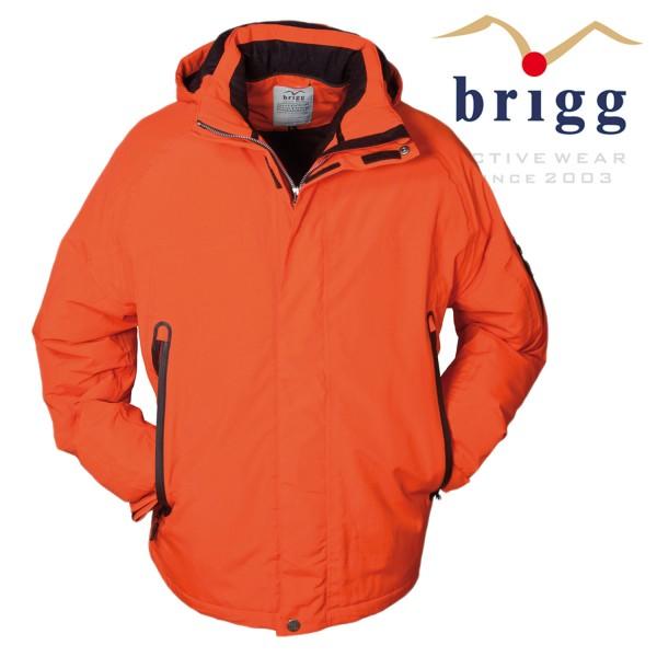 Brigg Herren Softshelljacke pro 8000 in orange