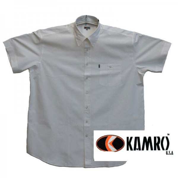 Kamro Sommerhemd weiss