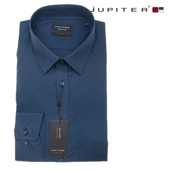 """Jupiter 1/1 Hemd """"Elegance"""" in dunkelblau"""