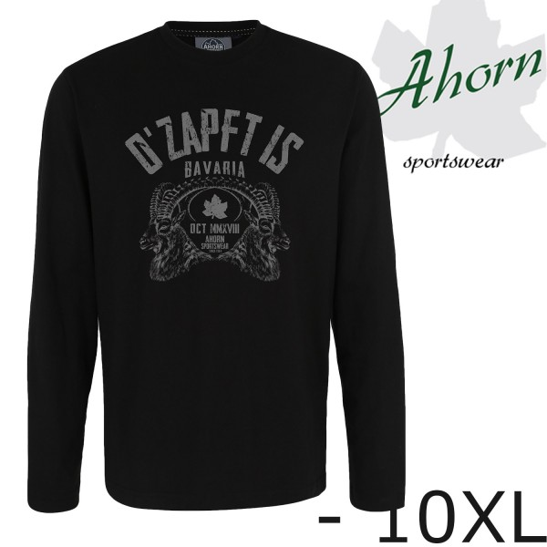 "Ahorn Longshirt ""O'ZAPFT IS"""